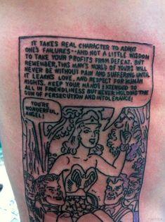 211967097 David Arquette's Wonder Woman tattoo. Tattoo Now, Get A Tattoo, David  Arquette,