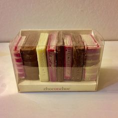 books and chocolate all in one - yummie!