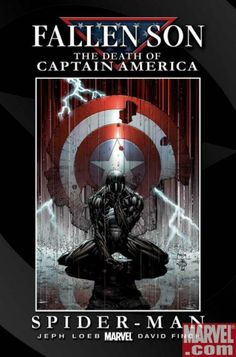 Fallen Son - The Death of Captain America # 4 by David Finch & Danny Miki