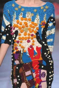 PRINTS, PATTERNS AND SURFACE EFFECTS FROM PARIS FASHION WEEK   Details from womenswear collections fall/winter 2013/14.   Tsumori Chisato