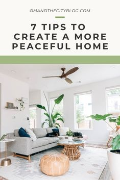 7 Tips to Create a More Peaceful Home | Over the years, I've realized just how much a tidy and clutter-free home impacts my overall happiness. For me, having a clear space welcomes a clear mind, and I know this can ring true for so many of us. Here are 7 tips to create a more peaceful home that will leave you feeling inspired to nurture your space. #mindfulliving #mindfulhome #peacefulhome #minimalistmindset #intentionalliving Minimalist Lifestyle, Minimalist Living, Natural Living, Simple Living, Peaceful Home, Clutter Free Home, Ring True, Declutter Your Home, Eco Friendly House
