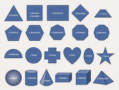 German for Beginners Deutsch für Anfänger: The shapes