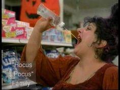 Hocus Pocus trailer with scenes not in the movie