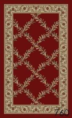 NEW Trellis Red Floral Design Rubber backed non-slip Area Rug Carpet 5x8 by HomeAccess, http://www.amazon.com/dp/B008B9Q4HK/ref=cm_sw_r_pi_dp_CYmgrb0D1ERZA