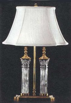 Waterford crystal 020 465 07 00 kilkenny 16 inch 75 watt polished waterford crystal 020 465 07 00 kilkenny 16 inch 75 watt polished brass accent lamp portable light waterford crystal polished brass and lights aloadofball Image collections