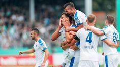DFB-Pokal: Sonntagsspiele im Überblick: Lottes Sportfreunde schmeißen Werder raus