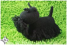 Scottish Terrier amigurumi, named Nigel