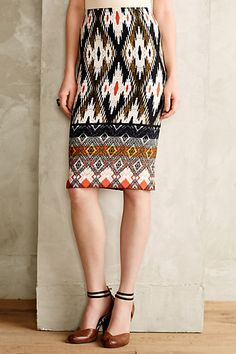 Iguazu Pencil Skirt - anthropologie.com