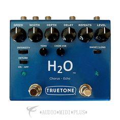 Visaul Sound V3 Series H20 Echo And Analog Modulation Guitar Pedal - V3H2O-U