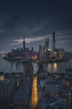 Chinese Architecture remained incredibly constant through the entire history of the united states. Shanghai Skyline, Shanghai City, Cityscape Photography, City Photography, Ancient Chinese Architecture, Cities, City Aesthetic, City Wallpaper, China Travel
