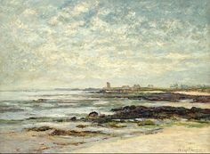 "maufra maxime sea basin the bay of quiberon 1910 sotheby (from <a href=""http://www.oldpainters.org/picture.php?/30160/category/13215""></a>)"