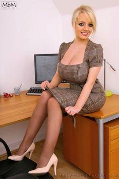 Secretaries with big boobs