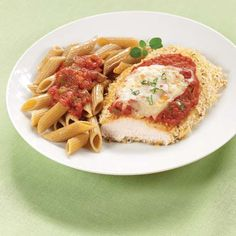 Guiltless Chicken Parmesan (Click Pic for Recipe) I completely swear by CLEAN eating!! Follow my blog  To INSANITY and back....  One Girls Journey to Fitness, Health, & Self Discovery.... http://mmorris.webs.com
