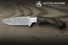 Damasteel stainless damascus steel with maple burl handle scales. Maple Burl, Handmade Knives, Damascus Steel, Hobbies, Handle, Hardware Pulls, Custom Knives