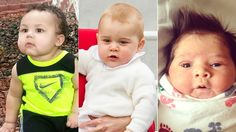 Chub-tastic! Prince George and 18 more babies with enormous cheeks