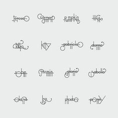 Futuracha Pro, changes shape as you type. The evolving typeface was designed by Odysseas Galinos Paparounis of høly, a design and branding agency. Caligraphy Alphabet, Calligraphy Letters, Penmanship, Lettering Design, Logo Design, Graphic Design, Signature Ideas, Signature Fonts, Whimsical Fonts