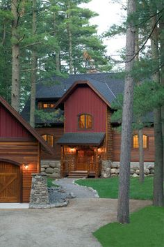 Rustic Home Exterior Design, Pictures, Remodel, Decor and Ideas - page 2
