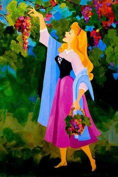 ディズニー 眠れる森の美女のイラスト