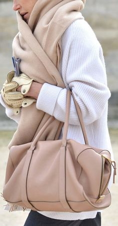 love this look. this scarf is to die for!
