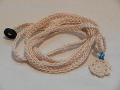 (4) Name: 'Crocheting : Charmed Wrap Bracelet FREE Pattern