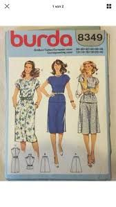 burda 8349 vintage - Google Search Dress Making Patterns, Vintage Dress Patterns, Vintage Dresses, Vintage Outfits, Vintage Clothing, 60s Patterns, 60s And 70s Fashion, Vintage Fashion, Mccalls Sewing Patterns