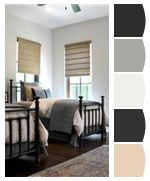 Grey and Beige color pallet for bathroom?