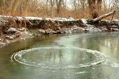 Naturally Occurring Ice Circles