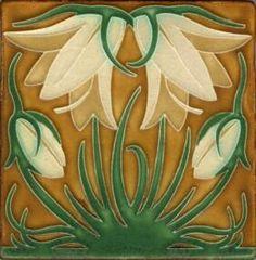 Craftsman Tile from Mission Tile West, South Pasadena #craftsman #tile #pasadena