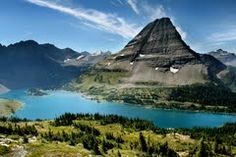 HIdden Lake and Bear Hat Mountain - Glacier National Park