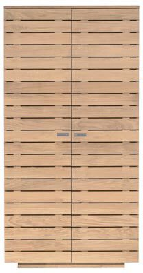 Oak Continental SLATTED Wardrobe