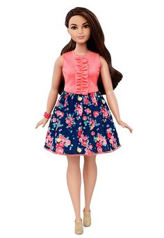 The Evolution of Barbie-Barbie finally comes in a curvy edition