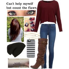 A fashion look from October 2015 featuring Paige Denim jeans, Mojo Moxy boots and Elsa Peretti bracelets. Browse and shop related looks.