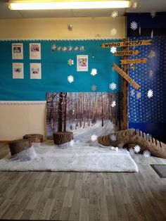 Frozen reading corner! #education #readingcorner #frozen #school