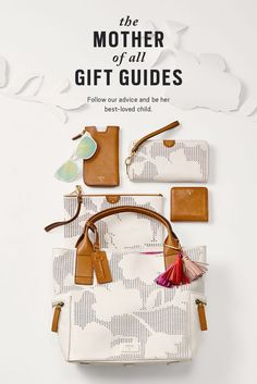 The Mother of all Gifts Guides is full of bags, watches and accessories Made for Mom.