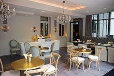 Wintergarten im #hotelmuenchenpalace #palacehotel #munich #hotel #restaurant #feelgood Around The Corner, Boutique, Palace, Restaurant, Bar, Contemporary, Table, Furniture, Home Decor