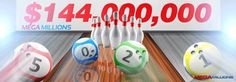 The rise and rise of the MegaMillions jackpot continues as it has now rolled to a massive $144,000,000! There's no time to spare - play now! http://ads.playukinternet.com/tracking.php/text/3113/12626/3368003/1