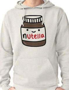 Nutella Cute Pullover Hoodie