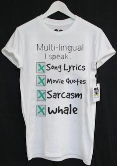 Speak Sarcasm Deaf Sign Language BRUH tee t-shirt hipster clue out of bed idk google it teenage dirtbag TQI