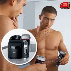 Men's Shaving System Cordless Braun Shaver Clean Charge Skin Comfort Black | Health & Beauty, Shaving & Hair Removal, Electric Shavers | eBay!