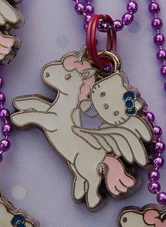 hello kitty on a unicorn!