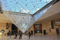 The Enigmatic Pei Pyramids of Paris : The Good Life France Ireland Vacation, Ireland Travel, Italy Travel, Dublin Ireland, Paris Eiffel Tower, Eiffel Towers, Great Pyramid Of Giza, Louvre, Paris At Night