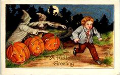 old hallowee postcards | Mockery.com | Vintage Halloween Cards