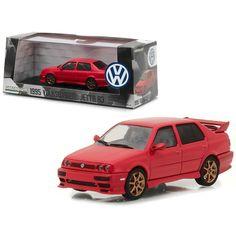 1995 Volkswagen Jetta A3 Red 1/43 Diecast Model Car by Greenlight