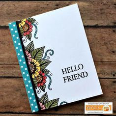 The Cast and Crew for Gina K Designs welcomes you to another fabulous blog hop celebrating the new StampTV Kit, Bold and Blooming . We hop...