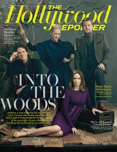 """""""Into the Woods"""" cast ~ December 2014"""