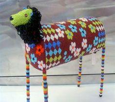 Monkeybiz bead art