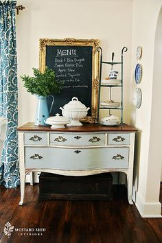 in LOVE with Annie Sloan chalk paint