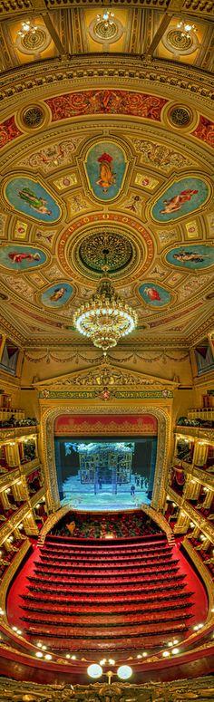 National Theatre of Prague, Czech Republic #prague #theatre #gold