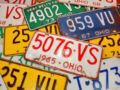 Apply for Ohio Special License Plates (Personalized & Other) Household Cleaning Tips, House Cleaning Tips, Cleaning Hacks, Toilet Cleaning, Old License Plates, How To Remove Rust, How To Apply, Road Trip Theme, Cleaning Recipes