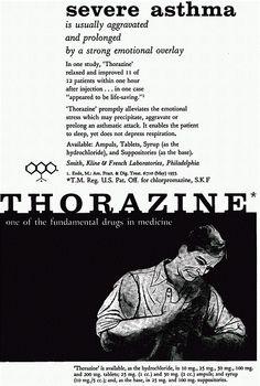 1957 Thorazine ad